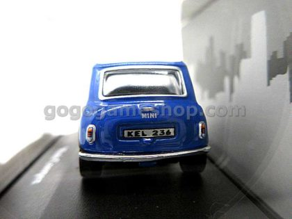 Cararama Hongwell Mini Cooper (Blue) 1:72 Diecast Model Car