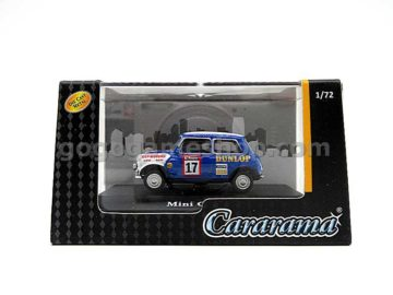 Cararama Hongwell Mini Cooper (Blue) 1:72 Diecast Model Car