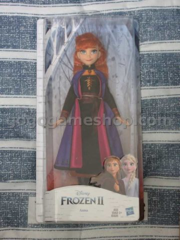 Disney Frozen 2 Anna Fashion Doll With Long Red Hair and Outfit by Hasbro