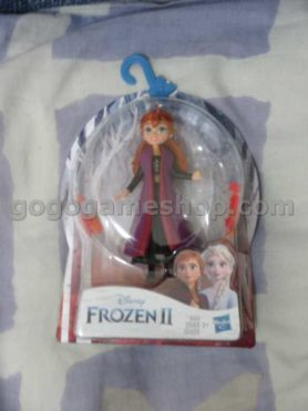 Disney Frozen Anna Small Doll With Removable Cape