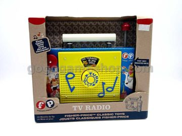 Fisher Price Toys - Classic Toys TV Radio