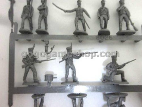 Hat Miniature Soldiers Model Set- Brunswick Leib Infantry
