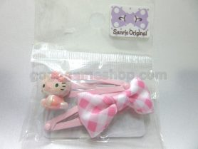 Hello Kitty Hair Clips Set of 2