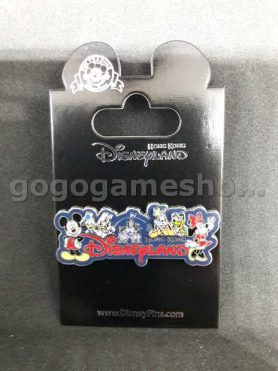 Hong Kong Disneyland Pin Trading Mickey Mouse and Donald Duck Pin