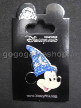 Hong Kong Disneyland Pin Trading Mickey Mouse Pin