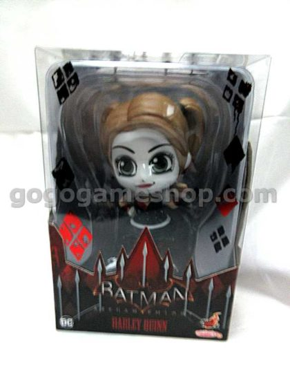 Hot Toys Cosbaby Batman Arkham Knight Harley Quinn Toy Figure