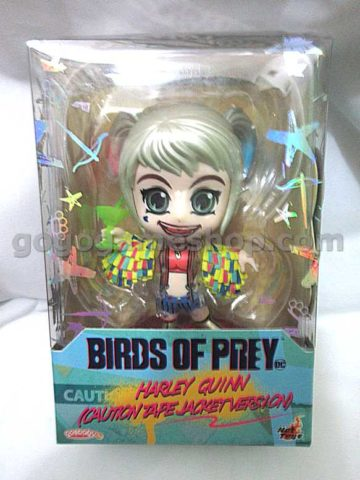Hot Toys Cosbaby Birds of Prey Harley Quinn (Caution Tape Jacket Version)