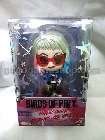 Hot Toys Cosbaby Birds of Prey Harley Quinn (Getaway Look Version)