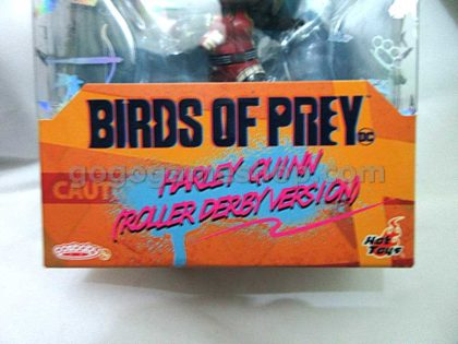 Hot Toys Cosbaby Birds of Prey Harley Quinn (Roller Derby Version)