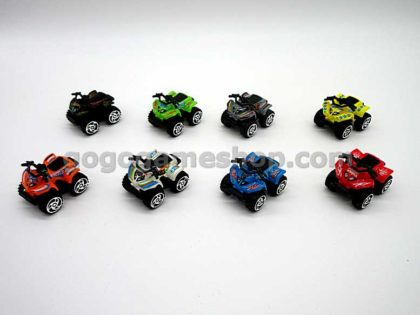 Hot Wheels Cool Things Capsule Toy Miniature High Speed Quad Car Models Complete Set of 8