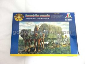 Italeri Historics Miniature Solders Model Set - Napoleonic Wars Accessories French Army Support Convoy
