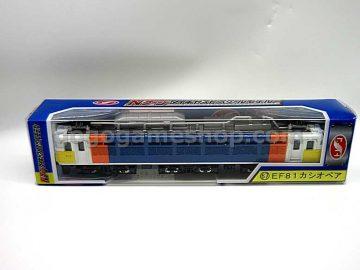 Japan EF81 Locomotive Diecast Model Train