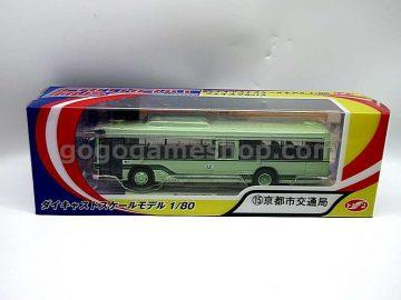 Japan Kyoto 1/80 Bus Die Cast Model