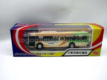 Japan Tokyo 1/80 Bus Die Cast Model