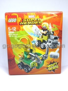 Lego Marvel Super Heroes Mighty Micros: Thor vs Loki