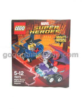 Lego Marvel Super Heroes Mighty Micros: Wolverine vs Magneto