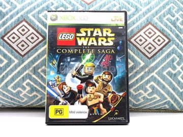 Lego Star Wars The Complete Saga Xbox 360 Live Video Game