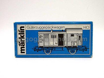 Marklin #4699 Guterzuggepackwagen HO Scale Train Model