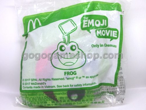 McDonalds Happy Meal Toy The Emoji Movie Only In Cinemas - Frog