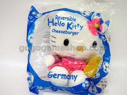 McDonald's 2002 World Cup Hello Kitty Plush Dolls