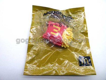 Mcdonald's Food Icons x Nanoblock Set of 6