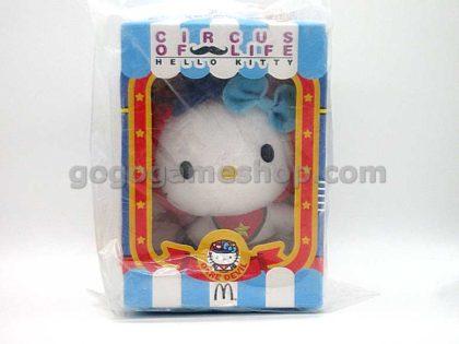 McDonald's Hello Kitty Circus of Life Plush Doll Set of 6