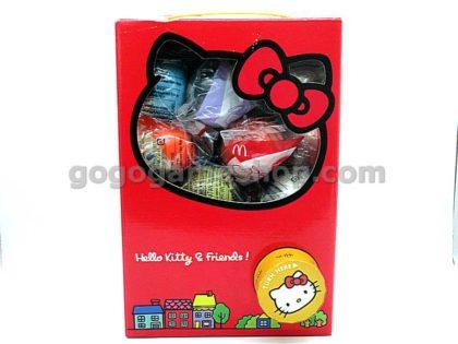 McDonald's Hello Kitty & Friends 2007 Plush Toy Ornaments Gashapon Machine alike Box Set