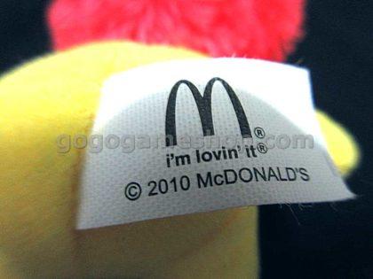 McDonald's McDonaldland Characters Plush Doll Ornaments