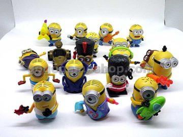 McDonald's Minions Toy Figures