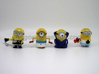 McDonald's Minions Toy Figures