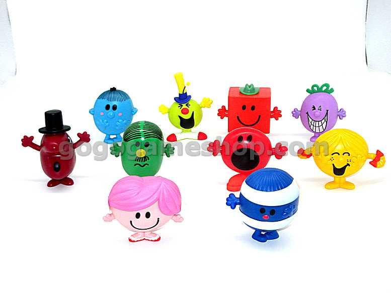Mr Men Little Miss Single Toy Figure Mr Worry McDonald