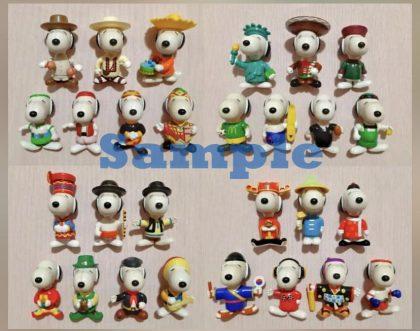 McDonald's Snoopy World Tour 2 (Year 1999) Set of 28