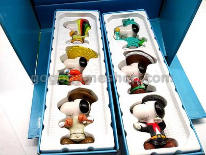 McDonald's Snoopy World Tour 2 (Year 1999) Set of 28 Box Set