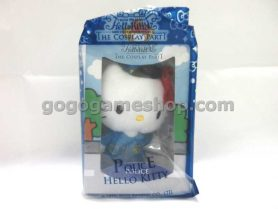McDonald's Toy - Hello Kitty The Cosplay Party - Hello Kitty Police Doll