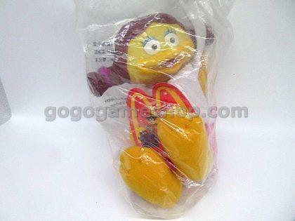 McDonald's Vintage 1997 McDonaldland Character Plush Toy Figures Set of 4