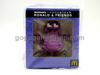 McDonald's x Nanoblock Ronald & Friends Miniature Figures Set of 6