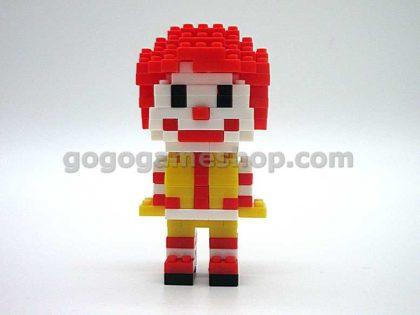 McDonald's x Nanoblock Ronald & Friends Set of 7