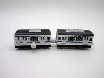 Miniature Model JR Train Capsule Toys Complete Set of 8