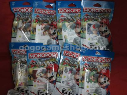Monopoly Gamer Mario Board Game Power Pack Complete set of 8