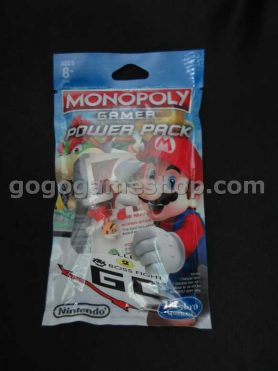 Monopoly Gamer Mario Board Game Power Pack - Fire Mario