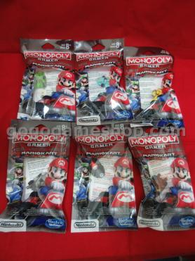 Monopoly Gamer Mario Kart Power Pack Full Set of 6