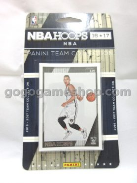 NBA 2016-17 NBAHOOPS Panini Team Collection Brooklyn Nets Collectible Cards