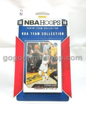 NBA 2018-19 NBAHOOPS Panini Team Collection Golden State Warriors Collectible Cards