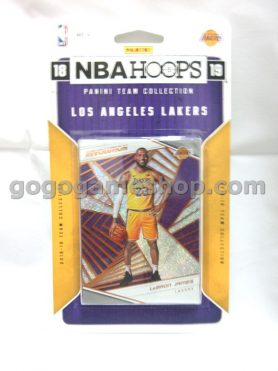 NBA 2018-19 NBAHOOPS Panini Team Collection Los Angeles Lakers Collectible Cards