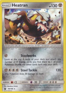 Pokemon Sun & Moon Celestial Storm Trading Game Card