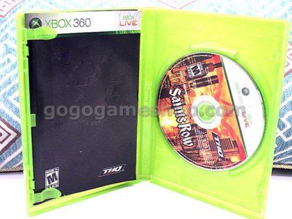 Saints Row Xbox 360 Live Video Game