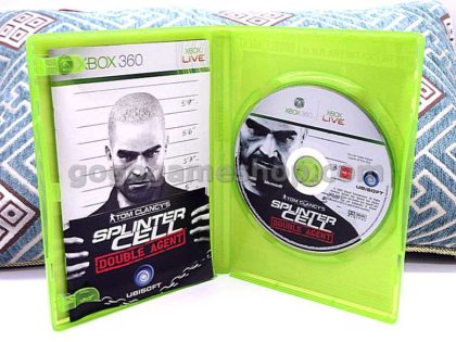 Tom Clancy's Splinter Cell Double Agent Xbox 360 Live Video Game