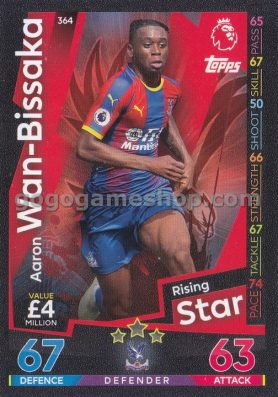 Topps Match Attax Premier League Trading Card - Wan Bissaka